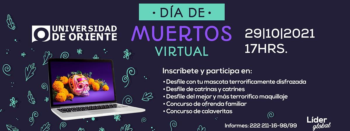 día de muertos virtual