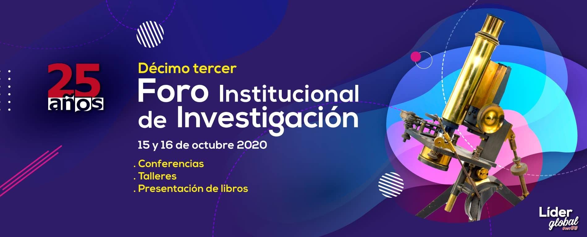 foro institucional de investigacion slider
